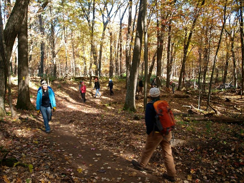 Ice Age National Scenic Trail Hartman Creek Segment Hike-a-thon