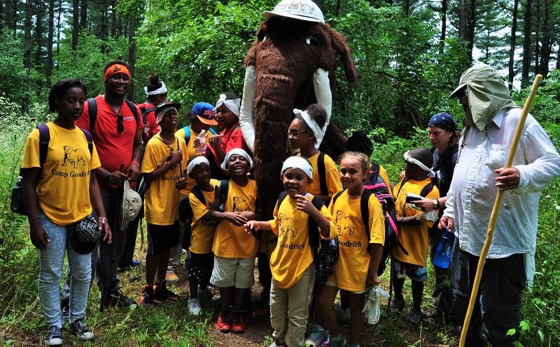 Education, Ice Age Trail Alliance, Summer Saunter's Program, Milwaukee School District, UW Waukesha Field Station, Relationship, Active Trails, Monte the Woolly Mammoth