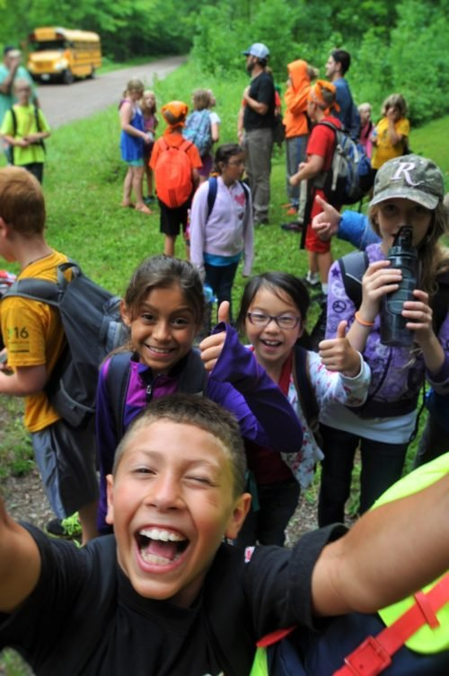 Ice Age Trail Alliance, Summer Saunter's Program, Wausau School District, Active Trails, Chequamegon-Nicolet National Forest, Fun, Enthusiasm