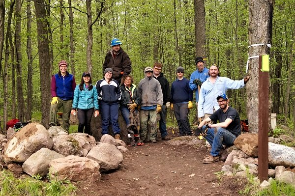 Ice Age Trail Alliance, Ice Age National Scenic Trail, Northland College, Mobile Skills Crew project