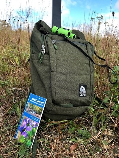Ice Age Trail Explorer Backpack in the field.