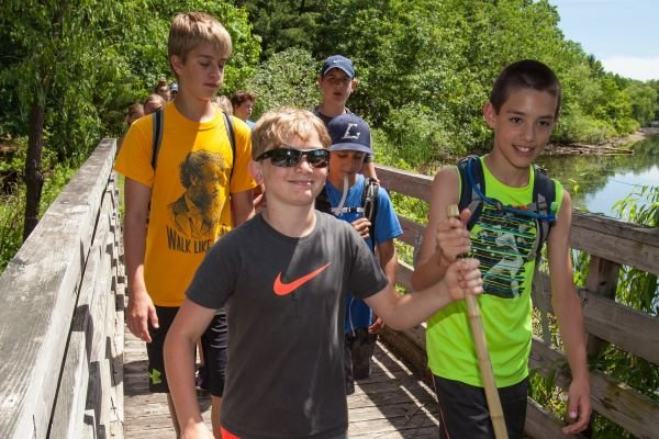 Ice Age Trail Alliance, Ice Age National Scenic Trail, Outdoor Classrooms, Field Experience, National Park Foundation, Saunters Program, Youth and Education, Outreach