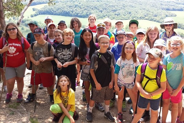 Ice Age Trail Alliance, Ice Age National Scenic Trail, Saunters Program, Summer Saunters, Think Outside, Childhood Obesity, Wisconsin Common Core Curriculum, Summer School, Youth backpacking trips, Service learning