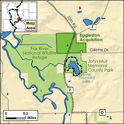 Map of Muir Preserve expansion