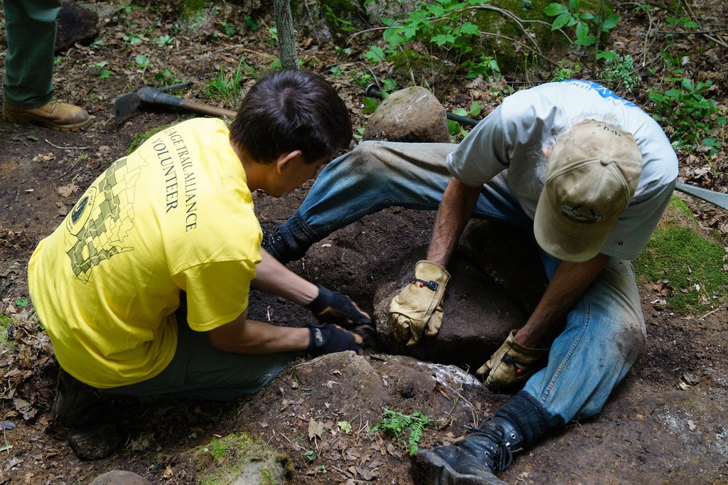 Mobile Skills Crew events 2020, Ice Age Trail Alliance, Ice Age National Scenic Trail